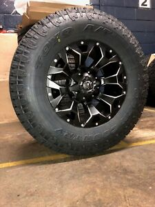 17 Fuel D546 Assault 33 Toyo At Wheel Tire Package 5x150 Fits Toyota Tundra