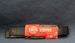 Vintage Radio Static Ground Strap Static Stopper 1601 18 Inches Nos