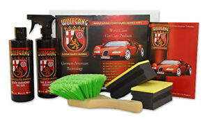 Wolfgang Car Care Tire Wheel Cleaner And Protectant Kit 16 Oz Wg 8500