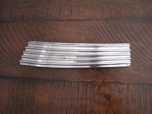 1936 Desoto S1 Upper Left Radiator Shell Grill Ornament Molding Trim 654802l