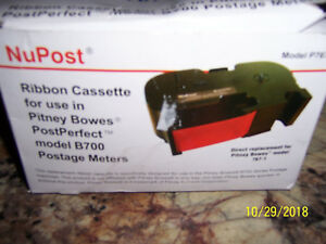 New Nupost P767 Ribbon For Pitney Bowes Model B700 Postage Meters 767 1