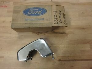 Nos 1973 Ford Pinto Lh Drivers Side Front Bumper Guard Assembly D3fz 17997 a