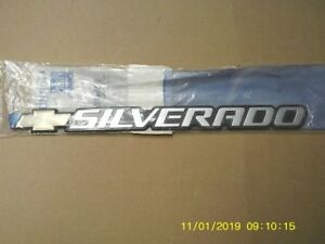 Chevrolet Silverado Emblem New 15 Inches Long X1 1 4 Inches