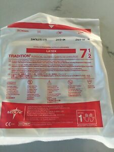 Medline Tradition Surgical Gloves Size 7 5 Ref msg4075 Lot Of 67 In Date