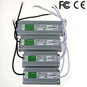 Ac To Dc 12v Waterproof Switching Power Supply For Led Strip Transformer Driver