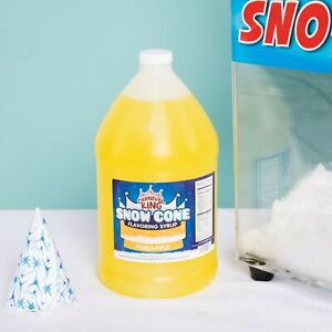 4 1 Gallons Premium Carnival King State Fair Pineapple Snow Cone Syrup