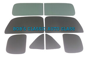 1956 1957 Nash Rambler 4 Door Sedan Classic Auto Glass Vintage Flat Windows New