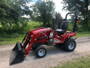 Massey Ferguson Gc 1705 4x4 Loader Tractor In Immaculate Condition Hydrostatic