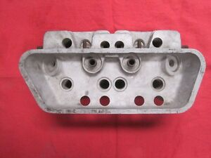 Porsche 356 A Early Style Cylinder Head One Only Date Stamp 38 6 Vintage German