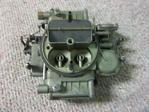Ford 332 Hd Truck Holley 4 Barrel Governed Governor Carburetor C3te 9510 L