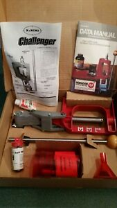 Lee Challenger Reloading kit with multiple shell cases included