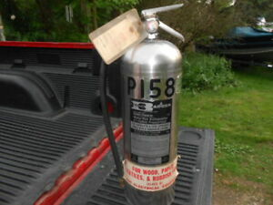 Badger Wp 57 Water Fire Extinguisher 2 5 Gallon Vintage 1977