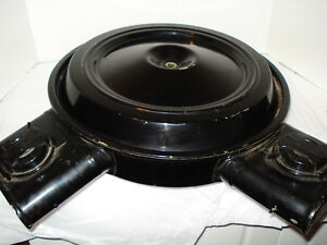 C 3 Corvette 1978 L 82 Air Cleaner Dual Snorkel W heat Stove Original Gm