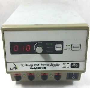 Owl Osp 300 Lightning Volt Electrophoresis Power Supply 10 To 300 Vdc