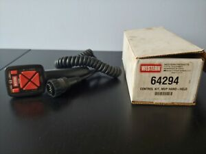 Western Fisher 10 Pin Snow Plow Hand Held Controller 64294