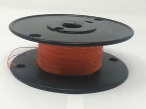 30 Awg Kynar Wire Wrap 30 Gauge Kynar 1000 Foot Spool Limited Stock Orange