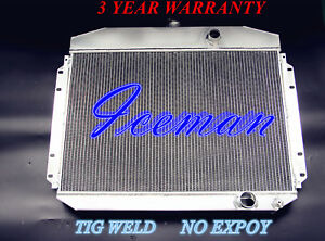 3 Row All Aluminum Radiator Fit 61 64 Ford F 100 F 250 Truck Pickup 6 Cylinder