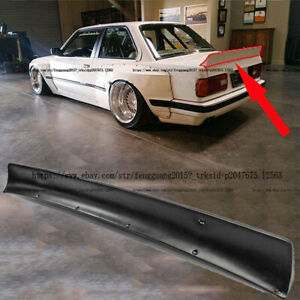 Fit For Bmw E30 Rear Duck Tail Trunk Spoiler Wing Boot Lid Spoiler Ducktail Lip