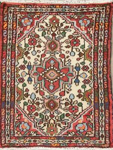 Lilian Persian 2 X 3 Wool Hand Knotted Floral One Of A Kind Oriental Area Rug