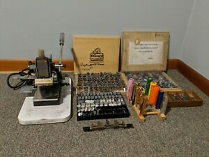 The Howard Personalizer Hot Foil Stamping Machine Lots Of Extras