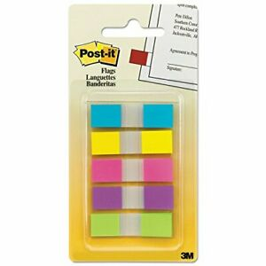 Post it Flags In Portable Dispenser 0 47 In X 1 7 In Yellow