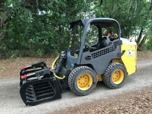 2015 Volvo Mc70c Skid Steer Loader With Side Entry Kubota John Deere Takeuchi