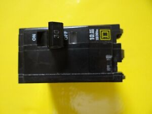 Used Square D Qo230 Breakers 2 Pole 30 Amp 240 Volt Breakers Type Hacr Lot Of 2
