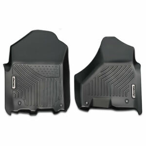 Oedro Floor Mats Liners Unique Tpe Fit For 2012 2019 Dodge Ram 1500 Crew Cab