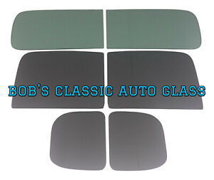 1946 1947 Ford Panel Truck Complete Flat Auto Glass Kit Restoration New Windows