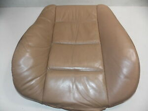 Bmw E36 Front Leather Seat Back Cushion Tan Left Oem 95 99 318 323 325 328