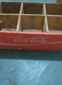 Enjoy Coca-Cola 1940's vintage distribution box