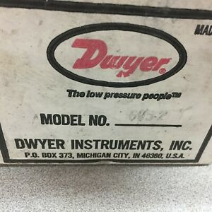 New In Box Dwyer 0 2psi Pressure Guage 605 2 N34z