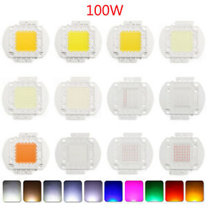 100w Led Bright Integrated Chip High Power Bulb Floodlight Emitting 22 Color B3