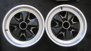 Porsche 951 944 Turbo Fuchs 7 X 16 Wheels Used Pair 951 362 115 00 Rare Special