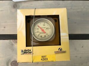 Autometer 4303 Ultra Lite Vacuum Boost Gauge 2 1 16 In Mechanical