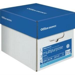 Office Depot Brand Multipurpose Paper 8 1 2 X 11 Case Of 5 Reams
