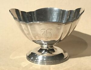 Mt Vernon Silversmiths Sterling Silver Footed Bowl 1913 1923