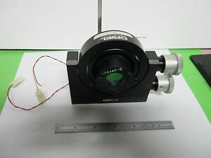 Optical Piezo Physik Instrumente Positioning Oriel Mount Laser Optics Bin q3 30