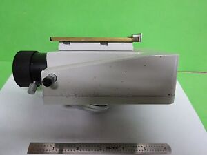 Microscope Part Leitz Germany Fluorescence Nosepiece Optics As Is Bin 11 e 10