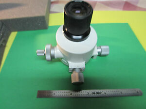 Microscope Part Leitz Wetzlar Germany With Eyepiece As Is Bin 4a 03