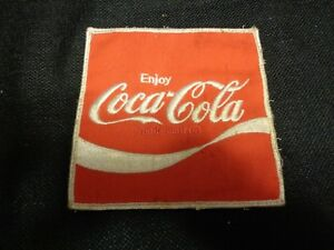 Large Vintage Embroidered COCA COLA PATCH 5