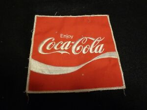 Vintage Embroidered COCA COLA PATCH Large  6