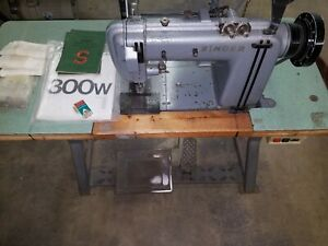 Singer 300 W 101 Industrial Sewing Machine