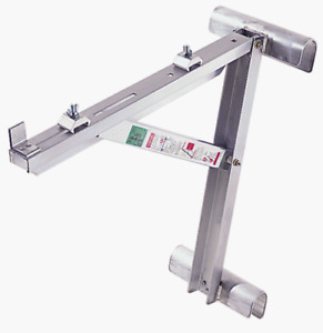 Werner Ac10 14 02 Short Body Aluminum Ladder Jack For Stages Up To 14 inch