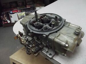 Braswell Holley Hp 830 Cfm Annular Boosters Gas Racing Carburetor Nascar Elliot