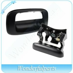 Tailgate Handle And Bezel Cover For Chevrolet Silverado Gmc Sierra 1999 2007
