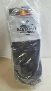 Lot Of 12 Pairs Mcr Safety 49600l Red Ram Mig tig Welding Gloves 4 5 Split Co