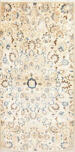Kashmar Persian 3x7 Wool Hand Knotted Floral Oriental Runner Rug 6 8 X 3 4