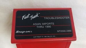 Mt2500 2490 Snap On Diagnostics Scanner Troubleshooter Asian Imports Thru 1990