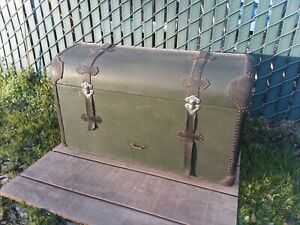 W R Malm Co San Francisco Model A Ford Cargo Luggage Box 1930s Collectible